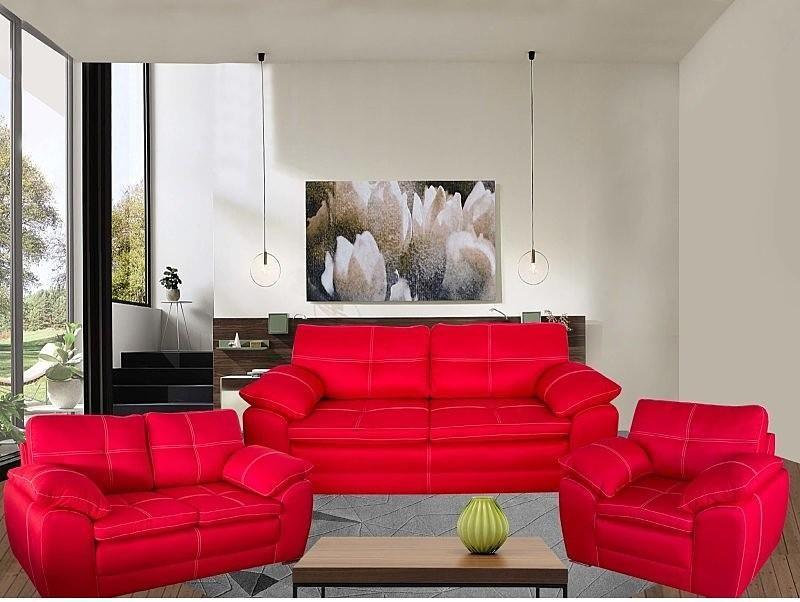 Sala Modelo Genova 3 2 1 Varios Colores Muebles De Sala Modernos Decoraciones De Casa Catalogo De Muebles