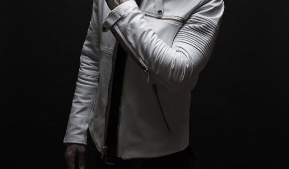 Leather jacket aesthetic - Truly Clean And Powerful The Executive White Leather Riding Jacket Is A Unique Piece For He Seeking Distinction