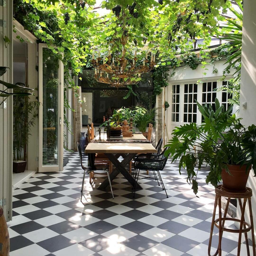 Pin By Stacy B On French Cottage Sunroom Kitchen Outdoor Rooms