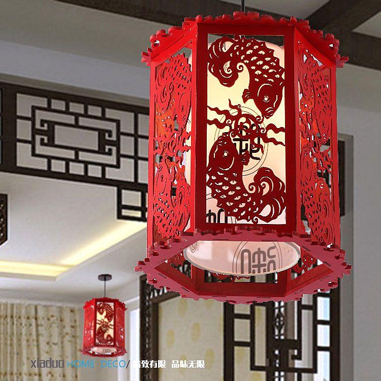 Chinese sheepskin lamp lights sitting room diningroom chandelier – Chinese Lantern Chandelier