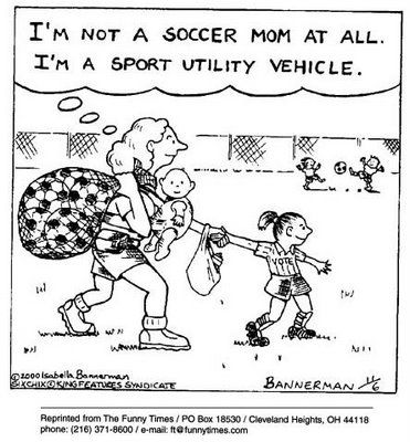 Soccer Mom Cartoon Soccer Moms Humor Soccer Funny Mom Humor