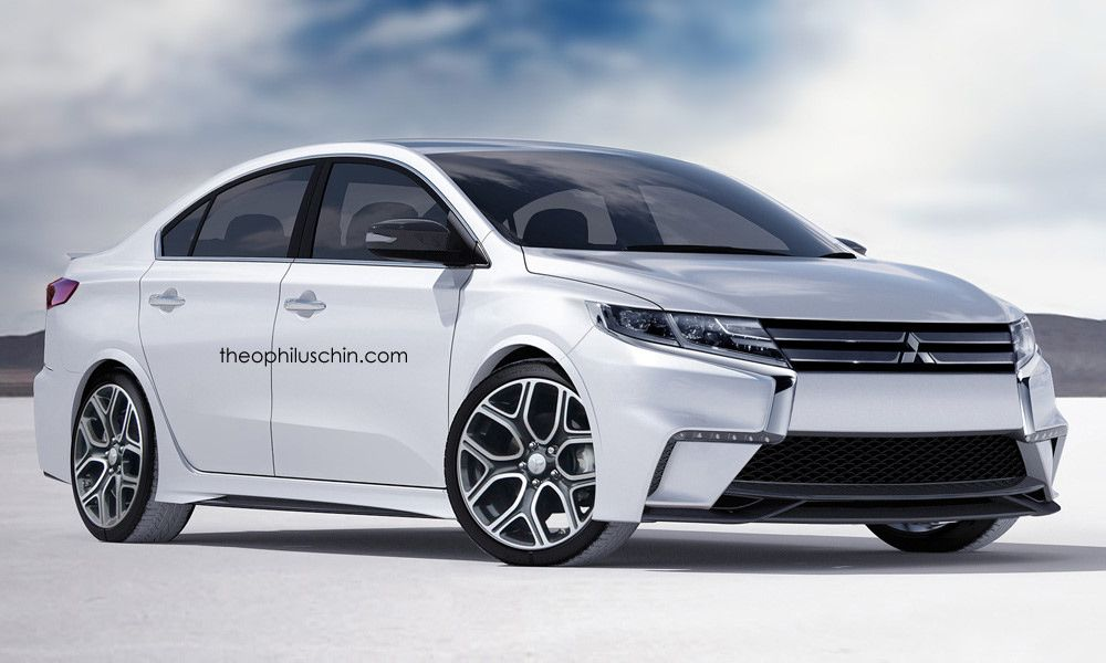 The New 2017 Mitsubishi Lancer Is Going To Be Shown Public At End Of This Year It Can Umed That Model Will Presented Y