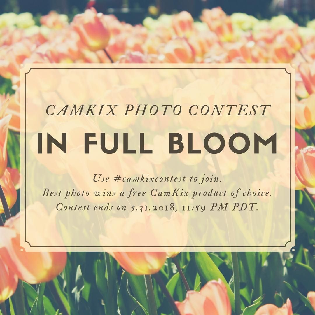 Camkix instagram photo contest for may use camkixcontest