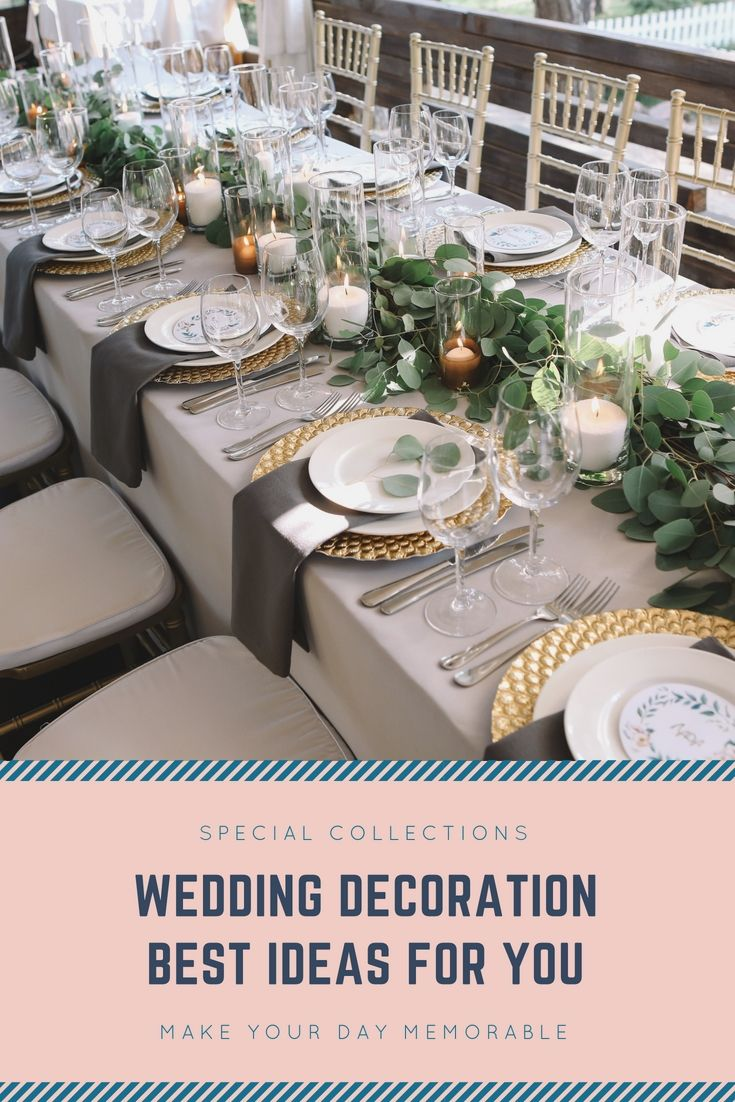 Liven up your own wedding decorations with the help of one of these liven up your own wedding decorations with the help of one of these great wedding decoration junglespirit Gallery