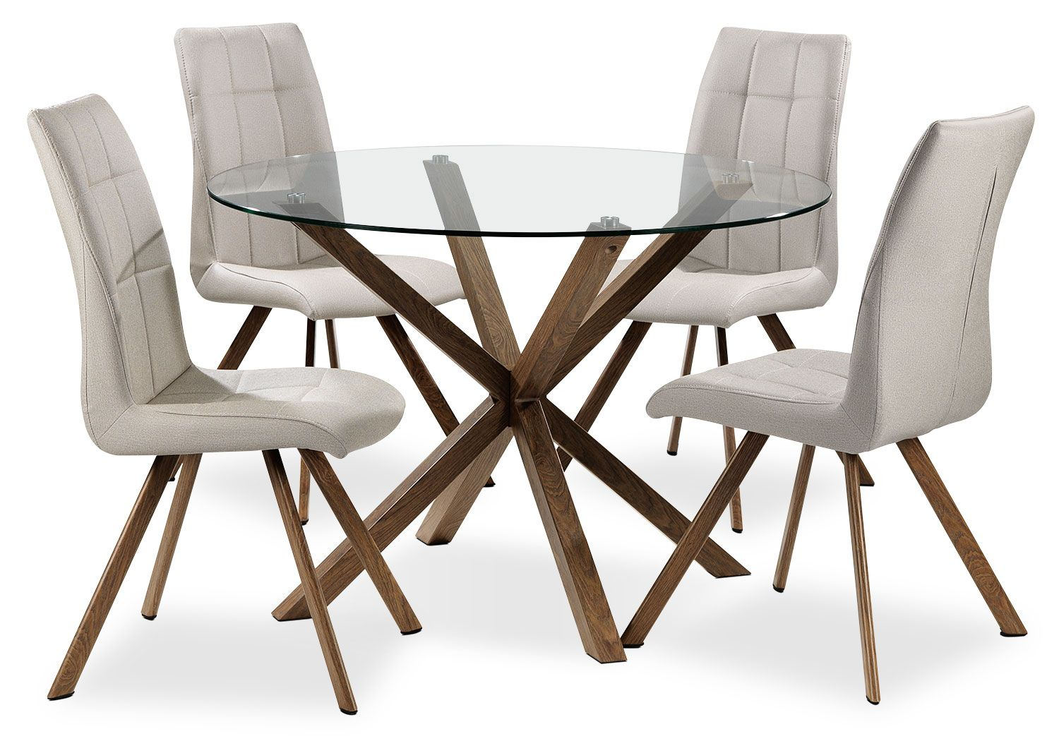 Casual Dining Room Furniture Clearview 5 Piece Dinette Set