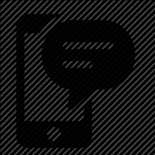 Mobile Message 512 Png 512 512 Pixels Text Message Icon Message Logo Messages