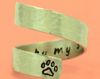 Pet Memorial Gift Pet Loss Gift Sympathy Gift Personalized Pet Loss Ring Pet Memorial Gifts Pet Loss Gifts Pet Memorials