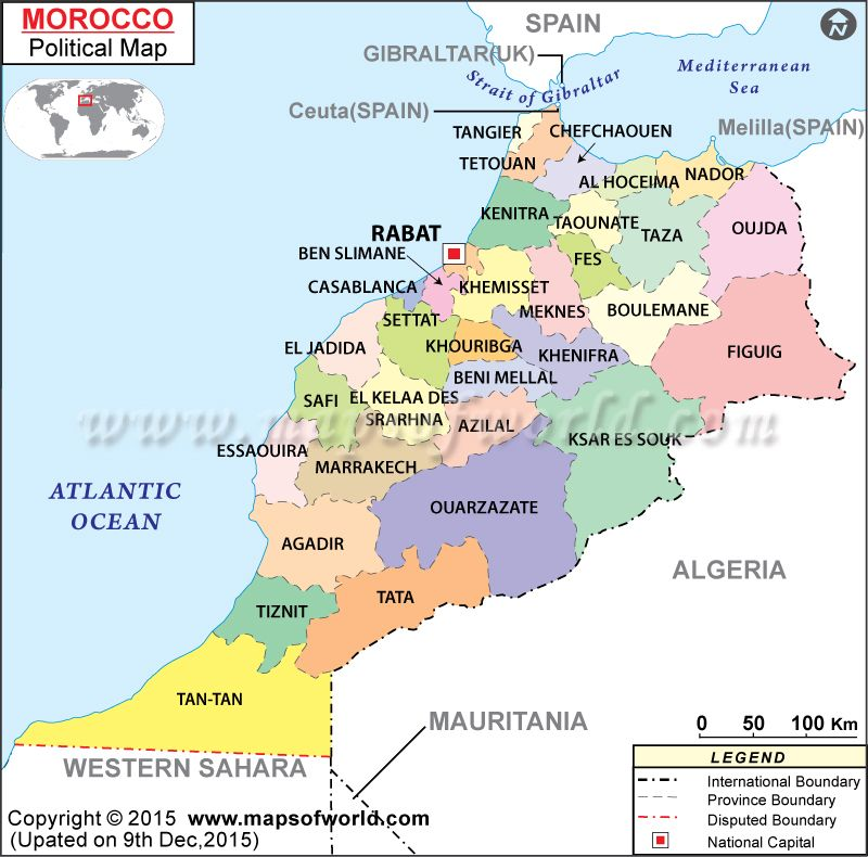 Map of Morocco 4 Pinterest Morocco and Morocco travel