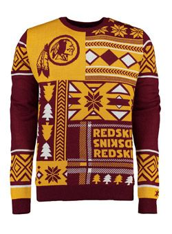 best service b7d9f 970a3 Have an ugly sweater party coming up? The #Redskins have got ...