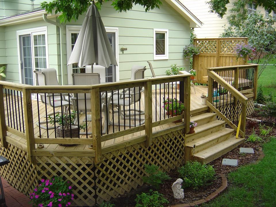 wood decks PressureTreated Deck, Des Moines' Windsor