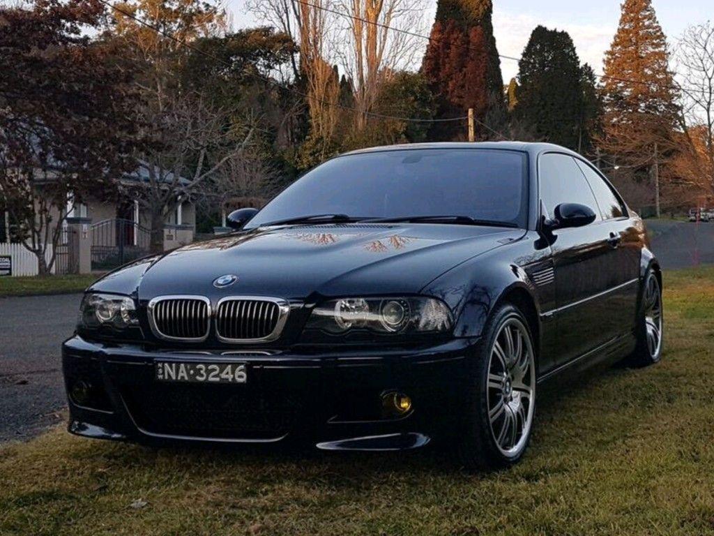 Bmw 2003 E46 M3 Coupe Carbon Black With Manual 6spd Sydney