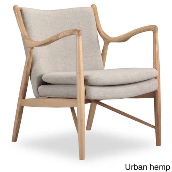 Fantastic Kardiel Copenhagen 45 Wood Twill Mid Century Modern Chair Squirreltailoven Fun Painted Chair Ideas Images Squirreltailovenorg