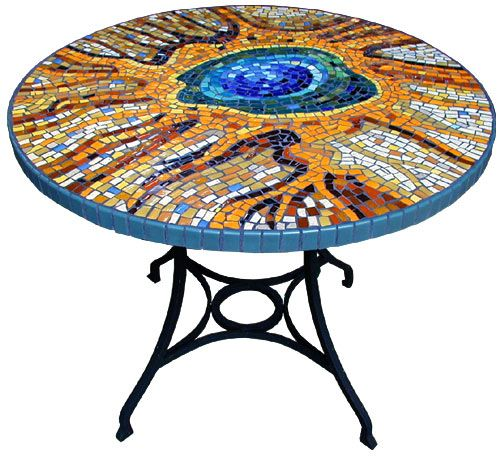 Outdoor Bistro table | I dig it | Mosaic patterns, Mosaic ...
