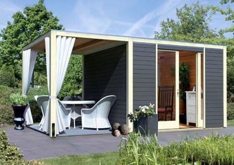 gartenhaus g nstig kaufen und selber bauen allgemein haus pinterest gardens tiny houses. Black Bedroom Furniture Sets. Home Design Ideas