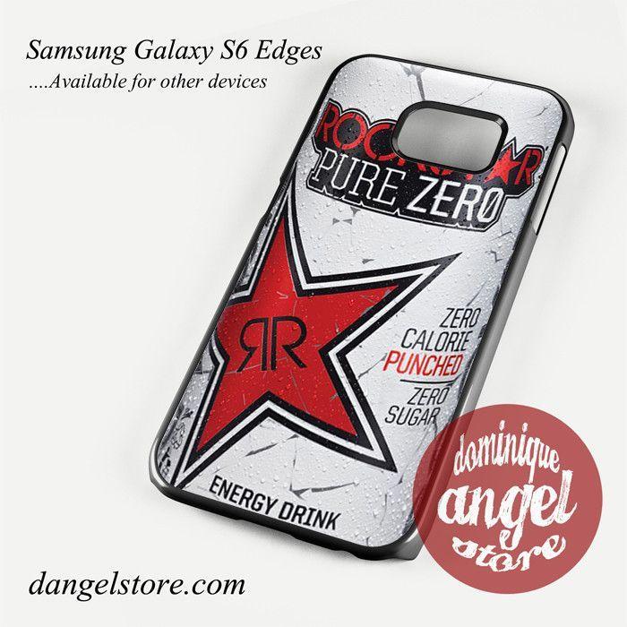 rockstar energy drink red pure zero Phone Case for Samsung Galaxy S3/S4/S5/S6/S6 Edge/S6 Edge Plus