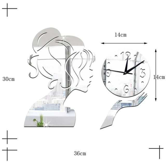 Photo of Glass Wall Clock Modern Design Landscape Light Luxury Colorful Art Reloj Pared Decorativo Clocks Living Room Bedroom Home Decor – WC1196 / As picture show