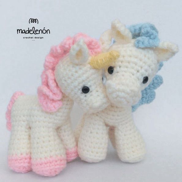 Fantasy amigurumi pattern by Madelenon | Unicornios, Unicornio y ...