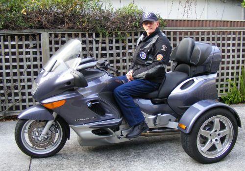 2000 bmw k1200lt trike -- trix   men on motorcycles   pinterest