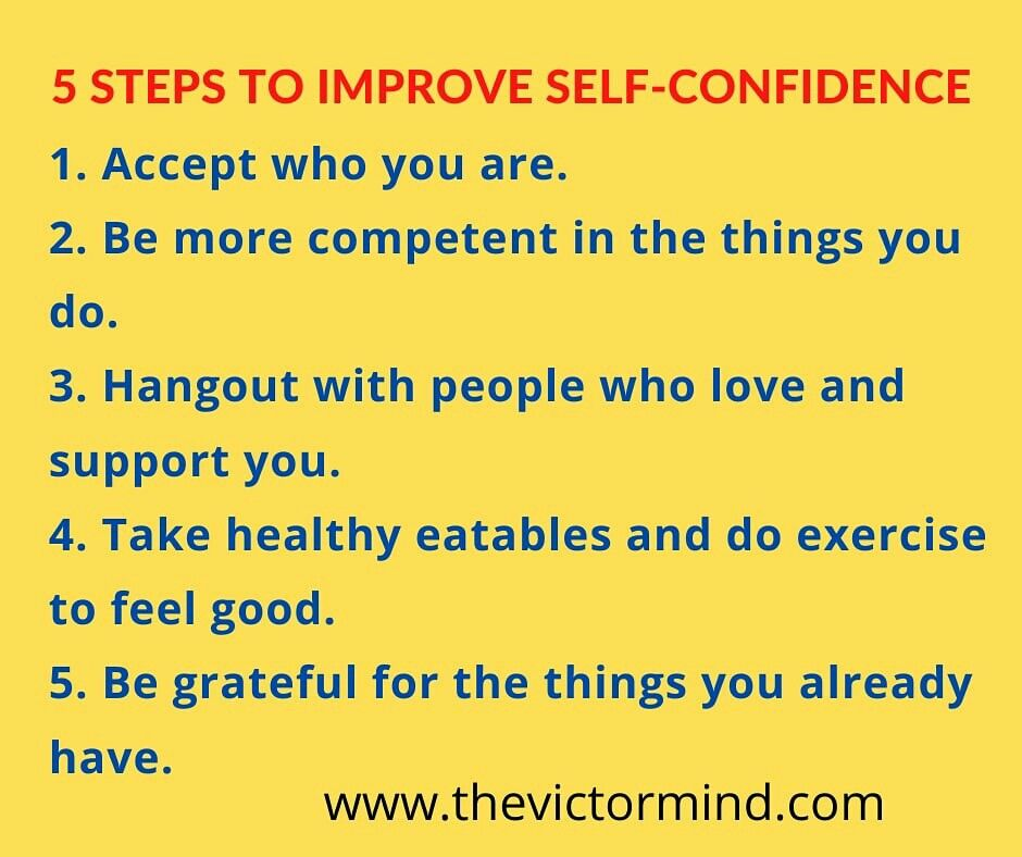 Self Confidence Motivational Quotes For Life Improve Self Confidence Personal Development Blog
