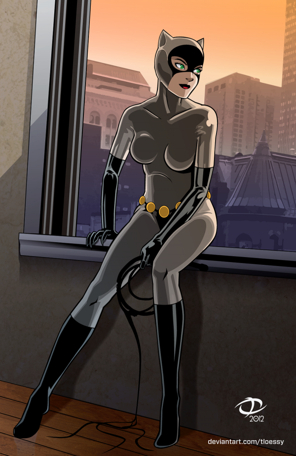 Todd_Loessy redesign of Catwoman. An oldie but a goodie