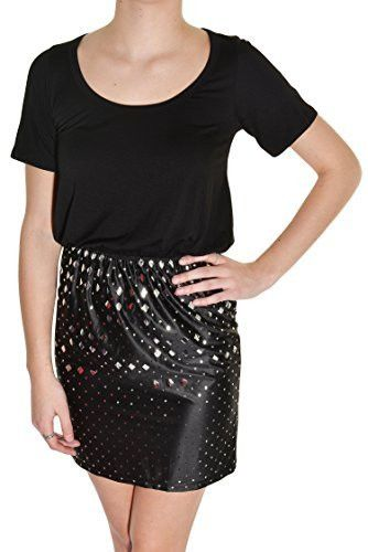 Everly Elastic Waist T-Shirt Dress #fashionable #fashion #stylish #style #trendy #stylish #womensfashion #womens #modern #shortsleeve #black #dress #sparkle #shimmer #comfortable