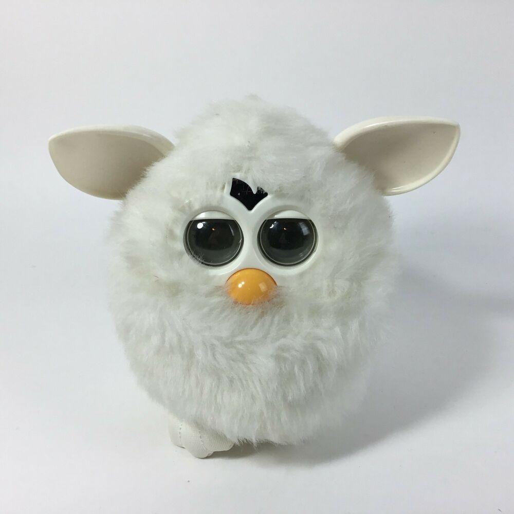 dd9c120d532544 Furby Boom Interactive Pet White 2012  Hasbro
