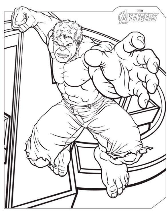 Dibujos De Hulkbuster Para Colorear Imagesacolorierwebsite