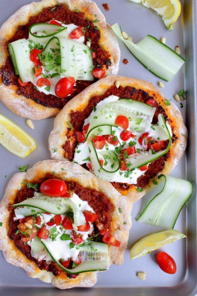 Mini Türkische Pizza mit Blitz-Teig #pizzateig