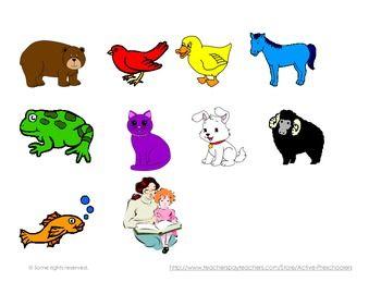 Brown Bear Brown Bear What Do You See Teacherspayteachers Com