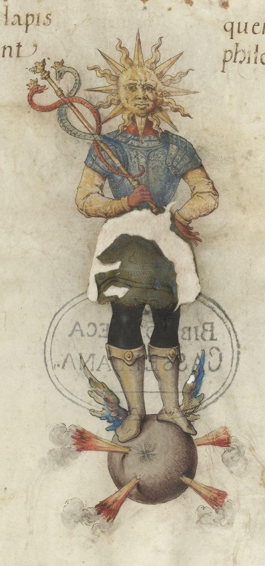 Hermes From A Copy Of The Splendor Solis Alchemy Symbols Art Medieval Art