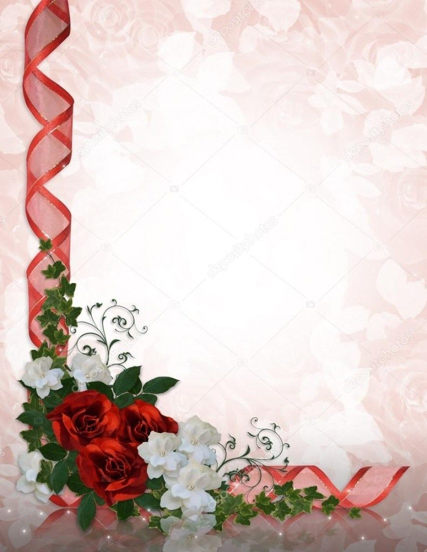 Amazing 30 Invitation Red Rose Wedding   Red rose wedding, Wedding ...