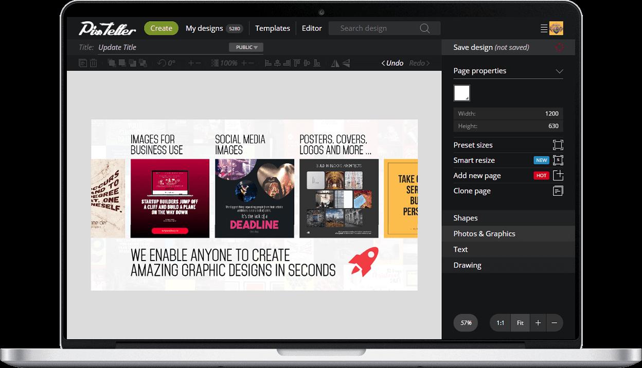 Pixteller Design Editor Social Media Poster Social Media Design