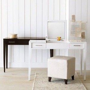 Vanity Table Fold Down Mirror