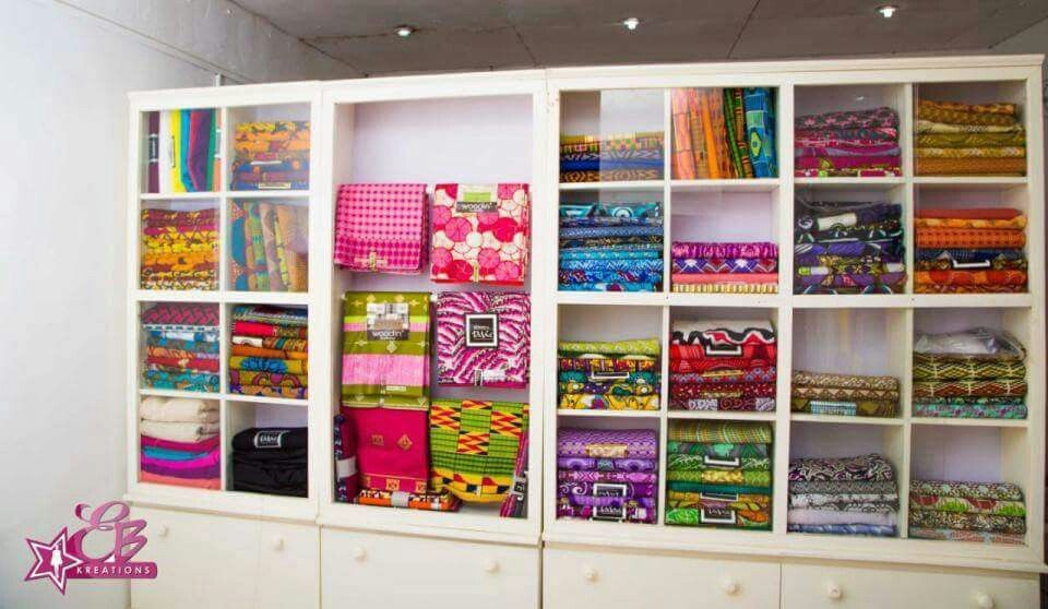 Ideal fabric shelf