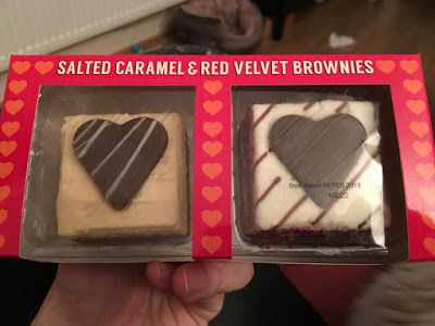 Salted Caramel And Red Velvet Brownies By Asda Galaxy