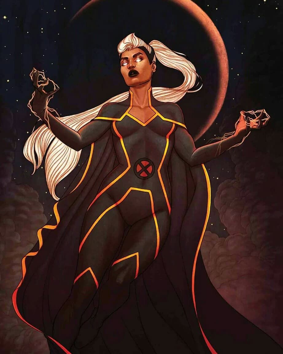 I Think That People Often Don T Realize How Badass Storm Is Like Not Just Because Of How Obviously Powerful And Storm Marvel Black Comics Marvel Superheroes