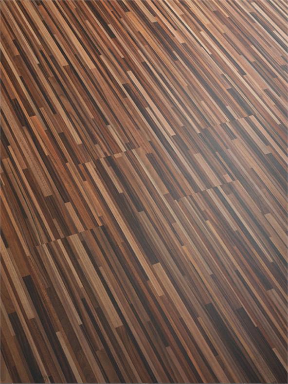 8mm Plum Astoria Zebrano Laminate Flooring