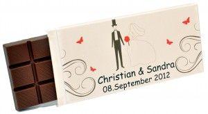 Hochzeit Tafelschokolade 100g Hochzeitsideen Pinterest