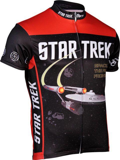 ThinkGeek :: Star Trek Cycle Jerseys