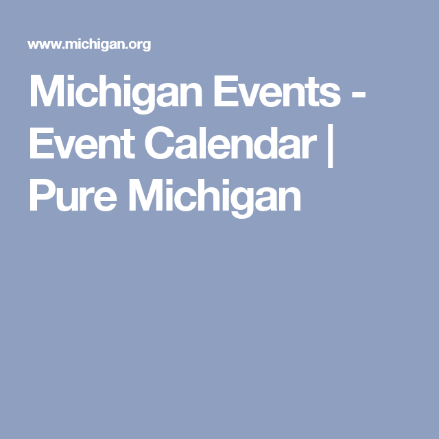 Events Calendar  Event Calendar Weekend Getaways And Small Towns