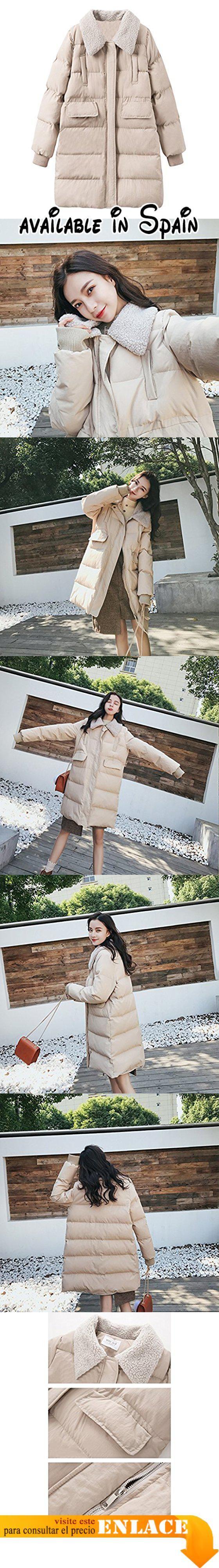 B0784LX3ZV   TSINYG Chaqueta de invierno gruesa floja de las mujeres  chaqueta de longitud media de moda de las mujeres ( Color   Beige Tamaño    XL… c186b644c94e