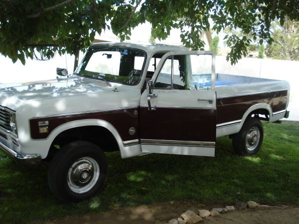 1974 Ih 4x4 Pickup International Truck Cool Trucks Old Trucks