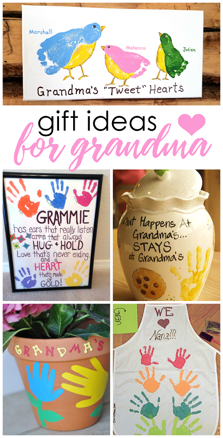 Mother's Day Gifts for Grandma Grandparents day crafts