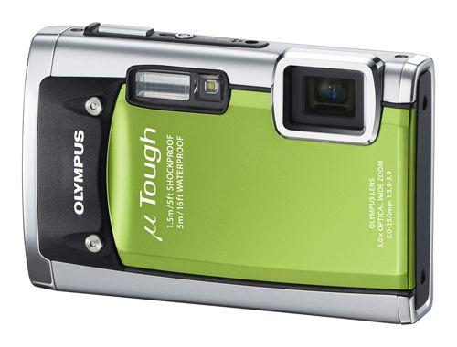 Olympus Mju Tough 6020 Large Green Jpg Waterproof Digital Camera Olympus Digital Camera