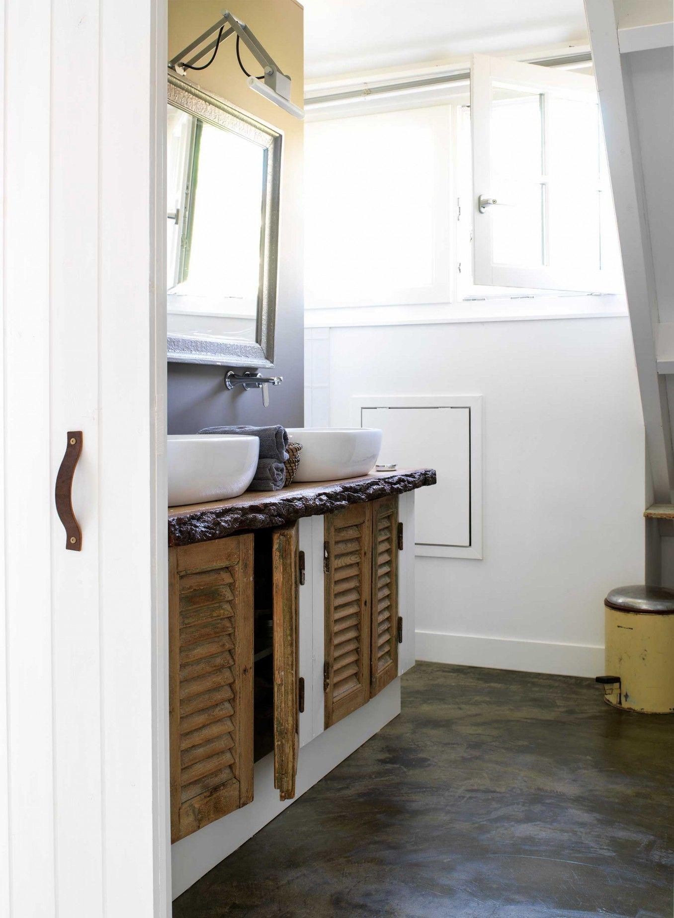 13-badkamer-wit-hout - Ideeën voor het huis/ home   Pinterest ...