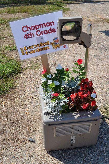Roses In Garden: Nebraska State Fair: Recycled Garden, Via Flickr