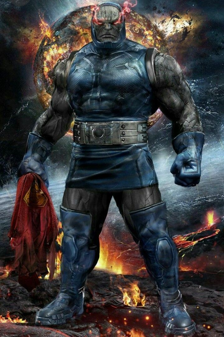 Darksied | Dc comics, Comic villains, Darkseid