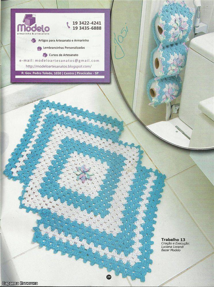 Liveinternet: crochet home decor pinterest