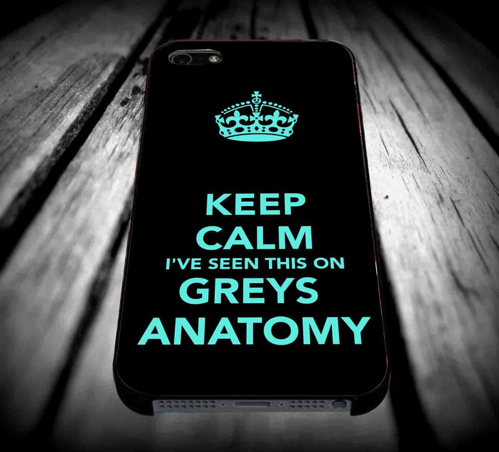Grey\'s Anatomy Pattern for iPhone 4/4s/5/5s/5c/6/6 Plus Case ...