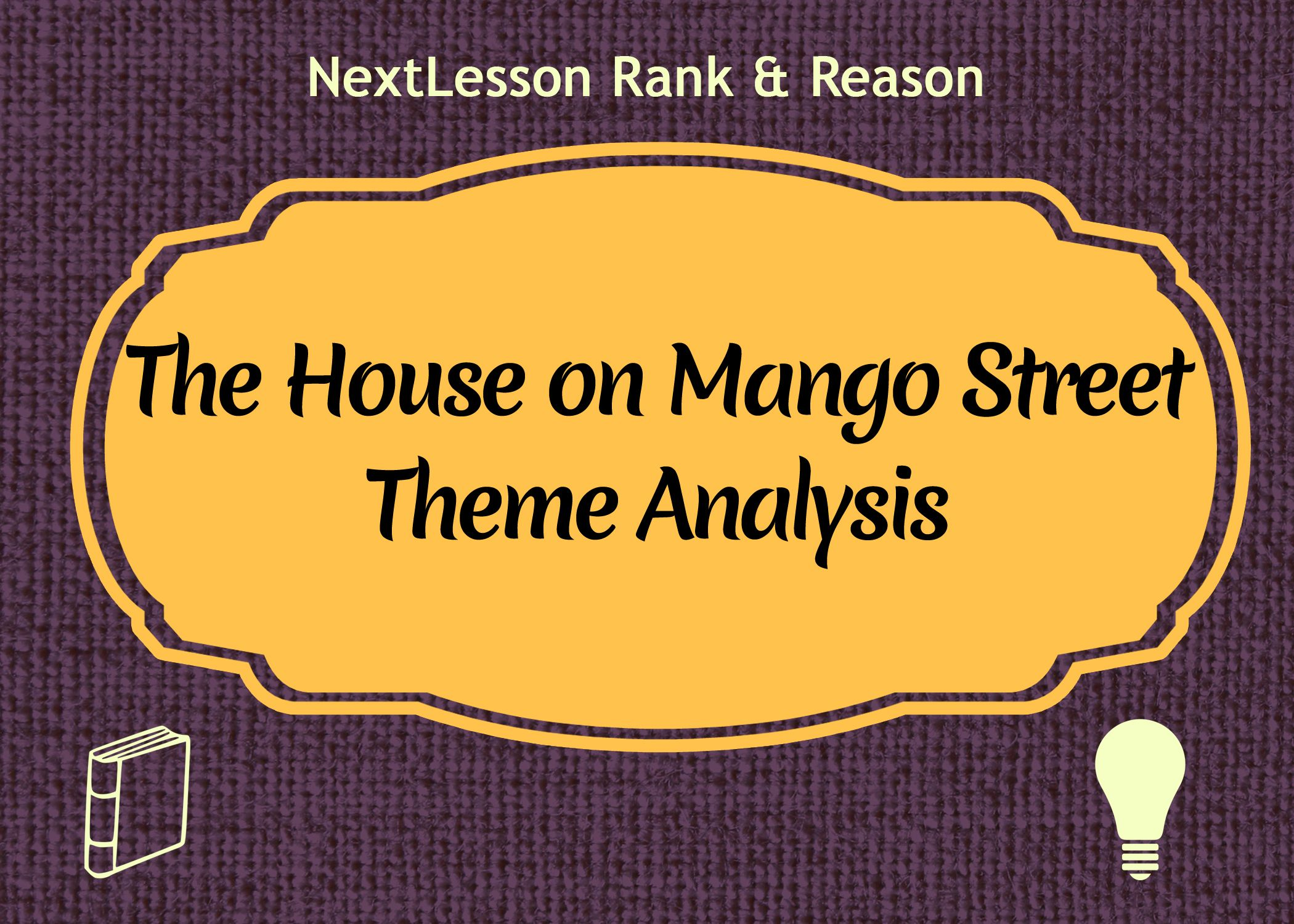 an analysis of symbols in the house on mango street by sandra cisneros This is our monkeynotes downloadable and printable book summary / study guide / booknotes / synopsis / analysis for the house on mango street by sandra cisneros in.